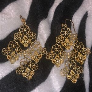 Stella and Dot Chantilly Lace Earrings